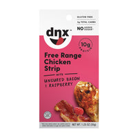 (8-Pack) Free Range Chicken, Uncured Bacon & Raspberry Strip