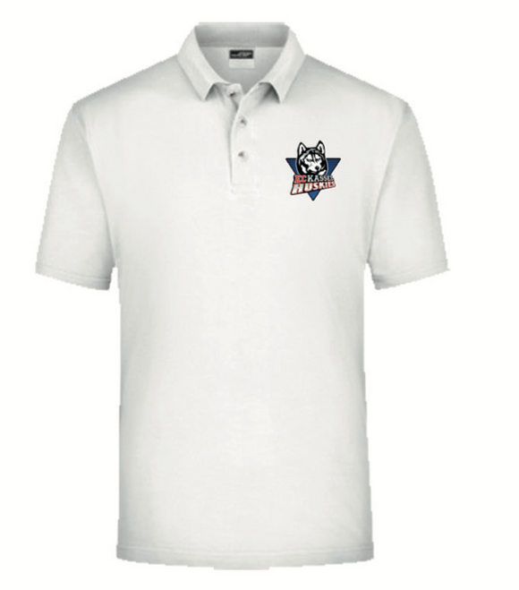 Polo Shirt Basic - Weiß