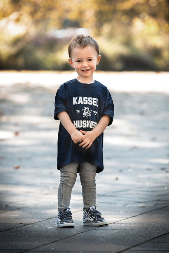 KIDS Huskies - T-Shirt Schwarz