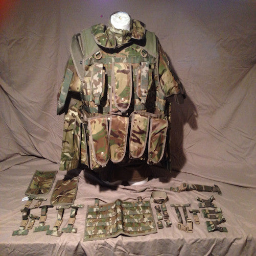 MTP British Tactical Vest  (with pouches)