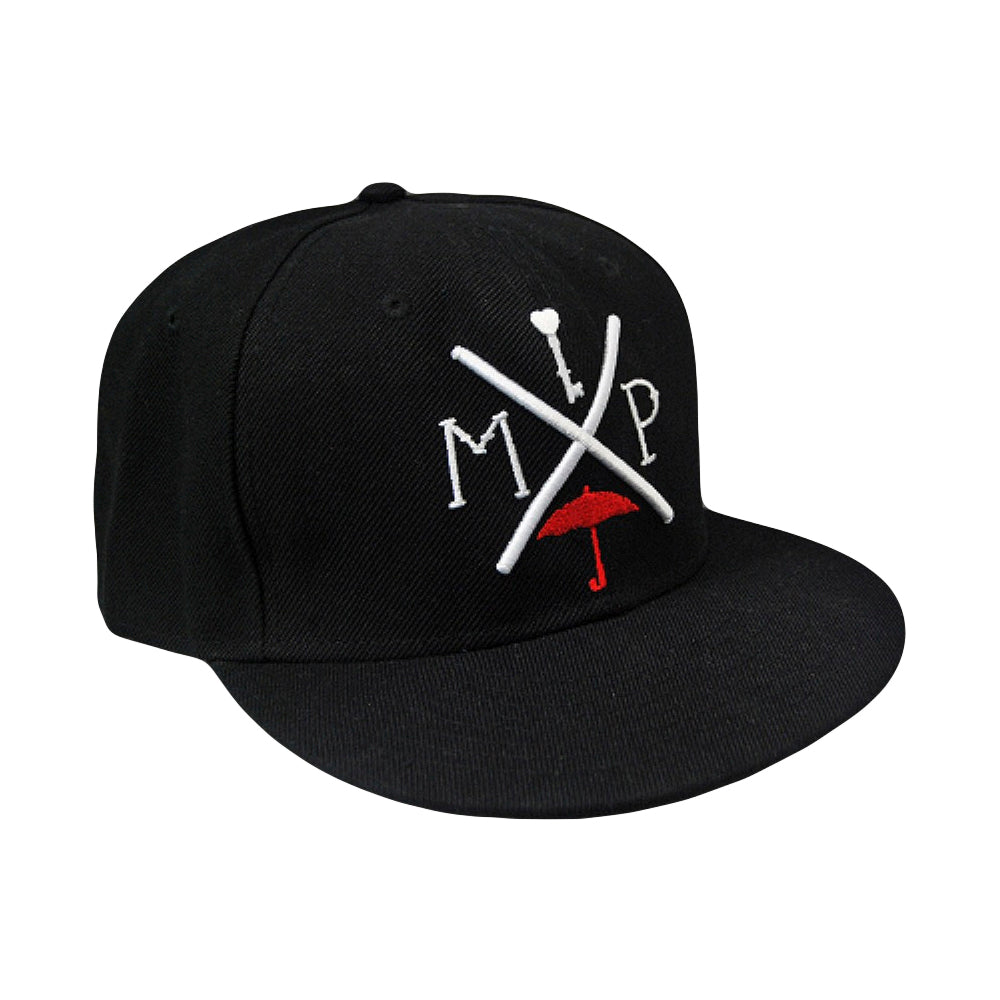 Arrow Black / Red Snapback Hat