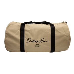 Out Of Here Tan Duffel Bag