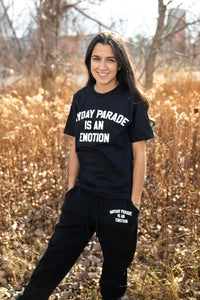 Is An Emotion Black Joggers