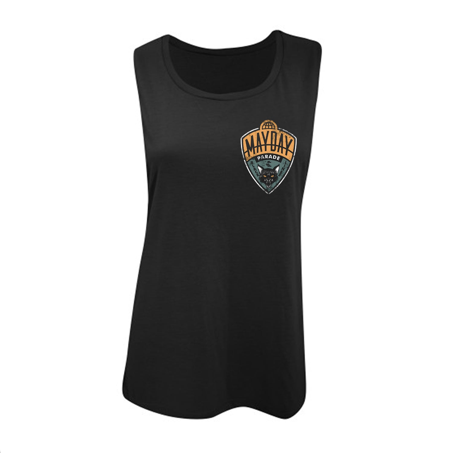 Cat Ladies Black Women's Muscle Shirt