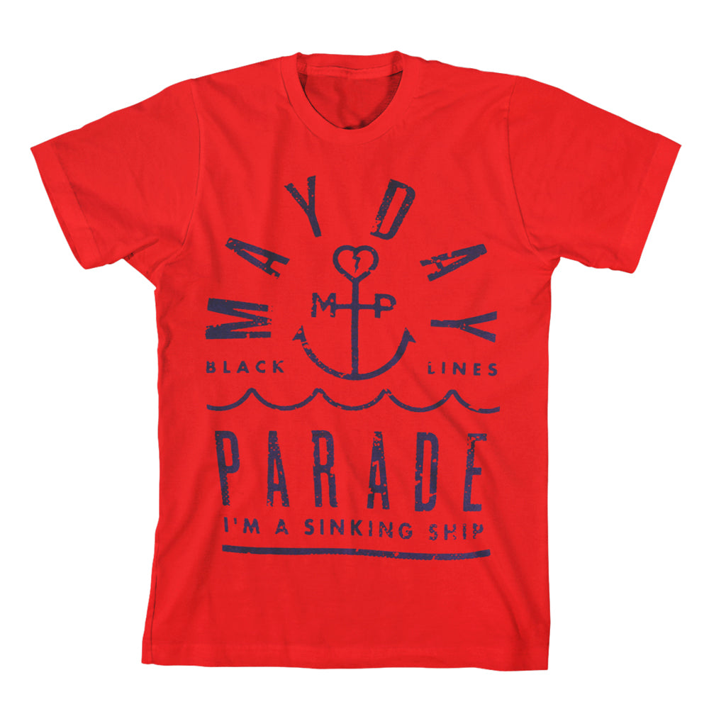 Anchored  Red T-Shirt