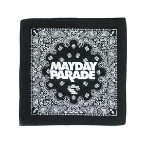Black Lines Bandana - Face Covering