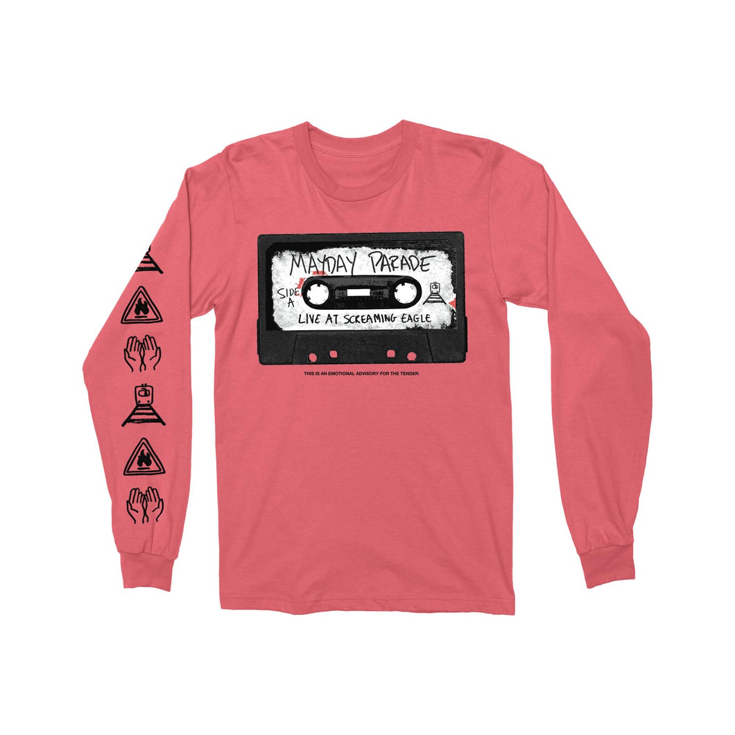 Cassette Watermelon Long Sleeve Tee