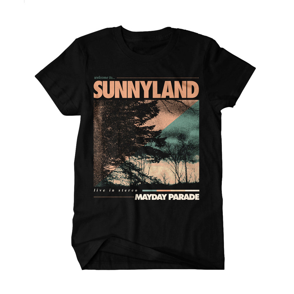 Welcome To Sunnyland Black T-Shirt