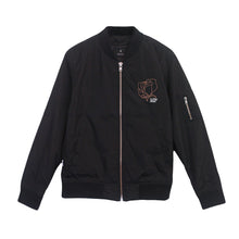 Load image into Gallery viewer, Rose Black Jacket