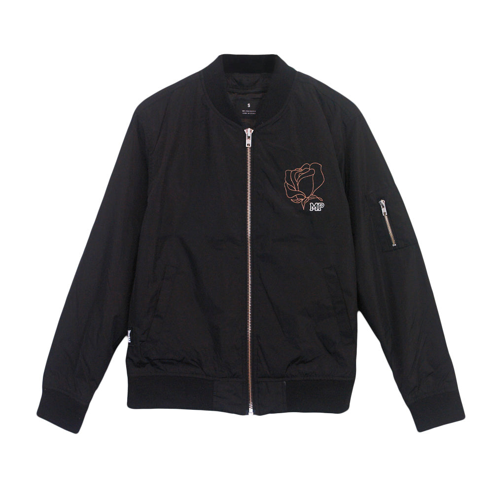 Rose Black Jacket