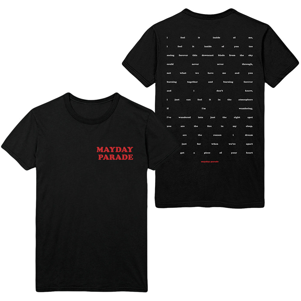 Paragraph Black T-Shirt