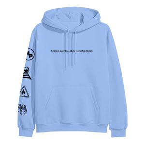 Umbrella Carolina Blue Hoodie