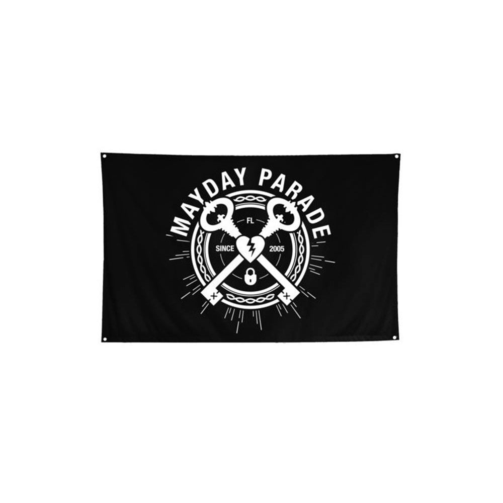 Keys Black Flag  3' x 5' Flag