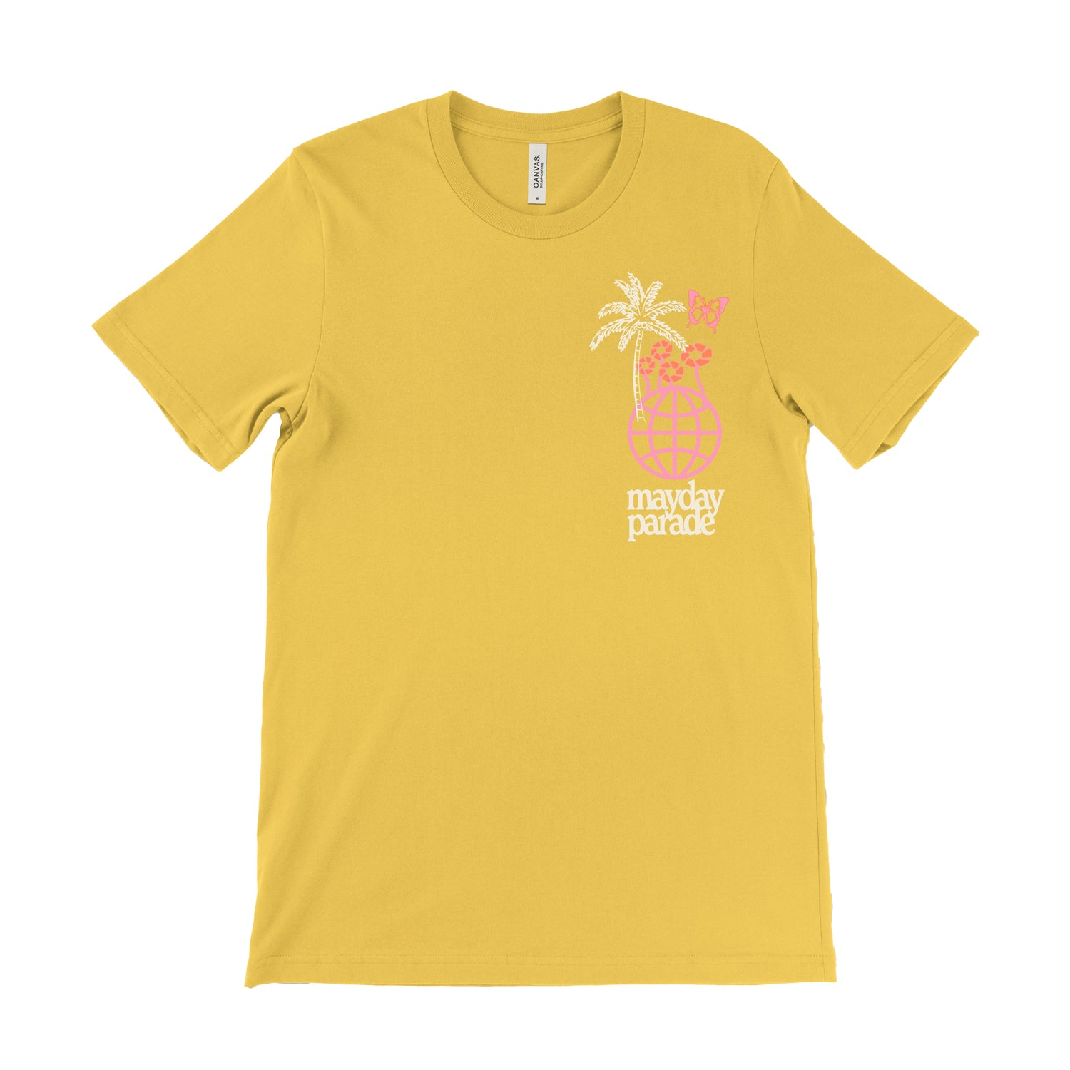 Don't Change Yellow T-Shirt