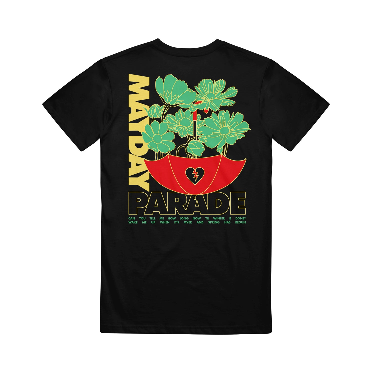 Bloom Black T-Shirt