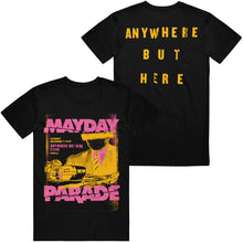 Load image into Gallery viewer, Anywhere But Here Session Black T-Shirt