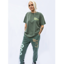 Load image into Gallery viewer, Emo Athleisure Club Alpine Green Joggers