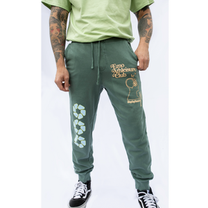 Emo Athleisure Club Alpine Green Joggers