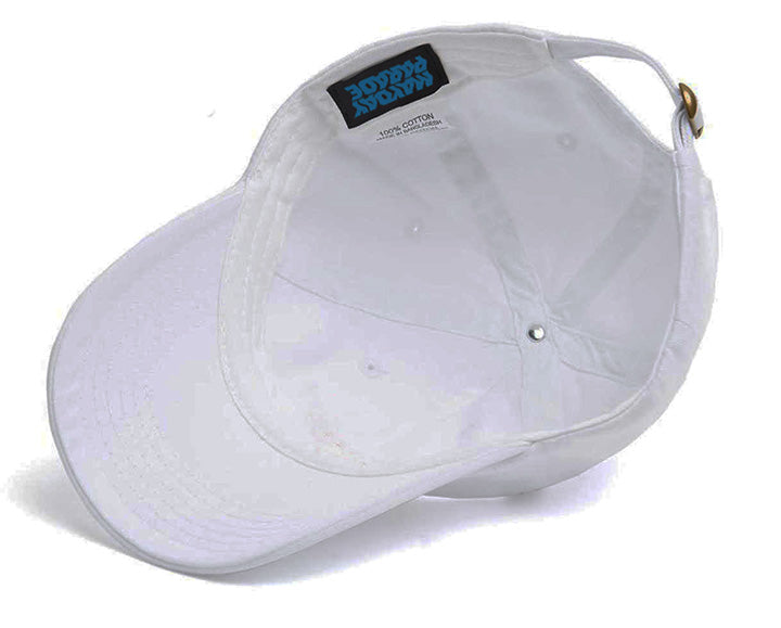 Circle Logo White Dad Hat