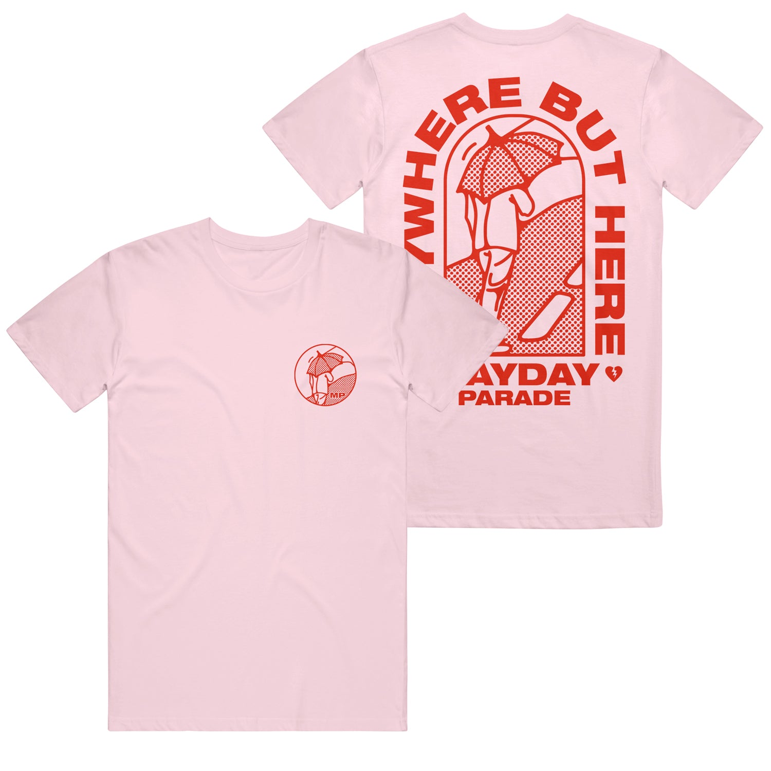 Anywhere But Here Session Pink T-Shirt