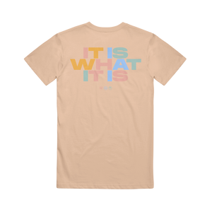 It Is What It Is Sand Dune T-Shirt