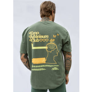 Emo Athleisure Club Moss T-Shirt