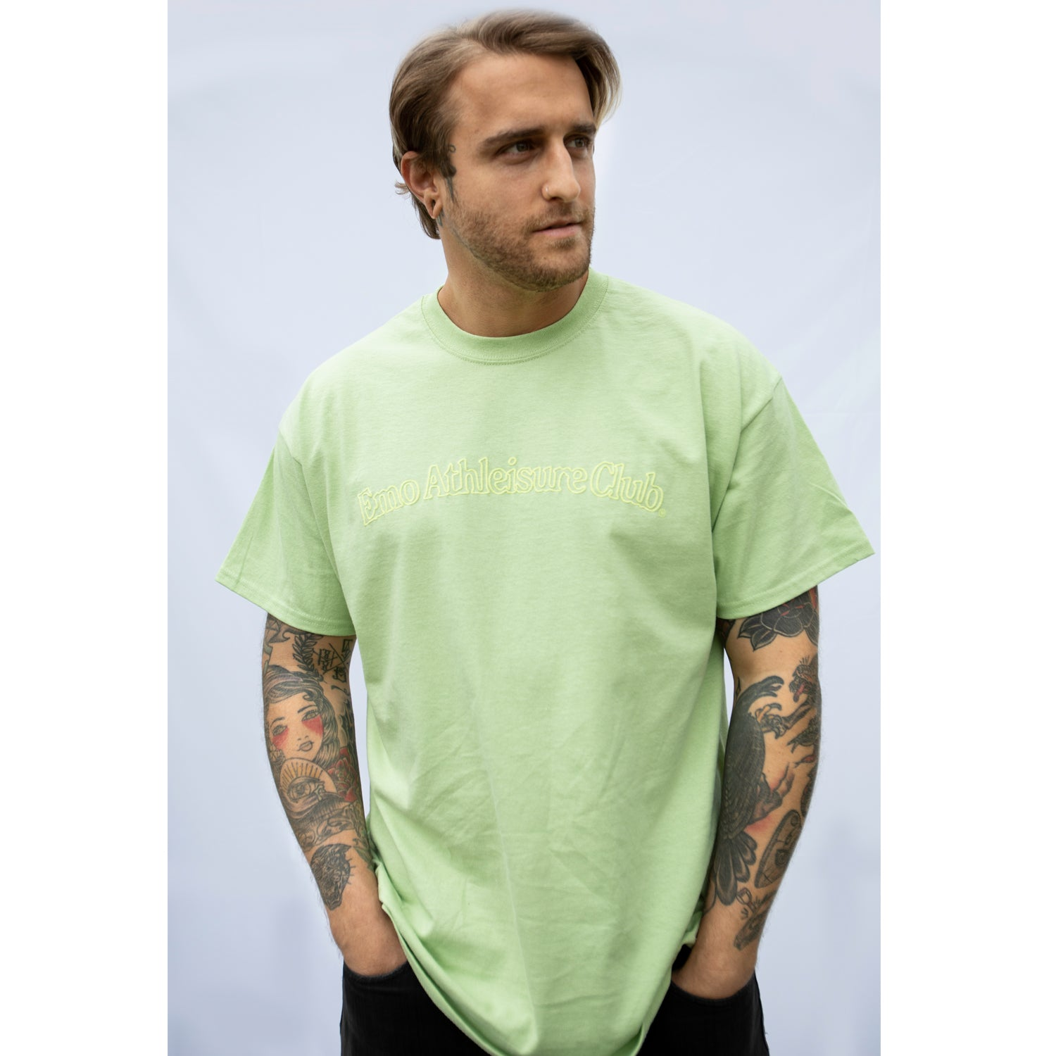 Emo Athleisure Club Pistachio T-Shirt