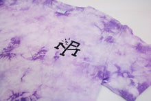 Load image into Gallery viewer, Coordinates Purple Tie Dye T-Shirt