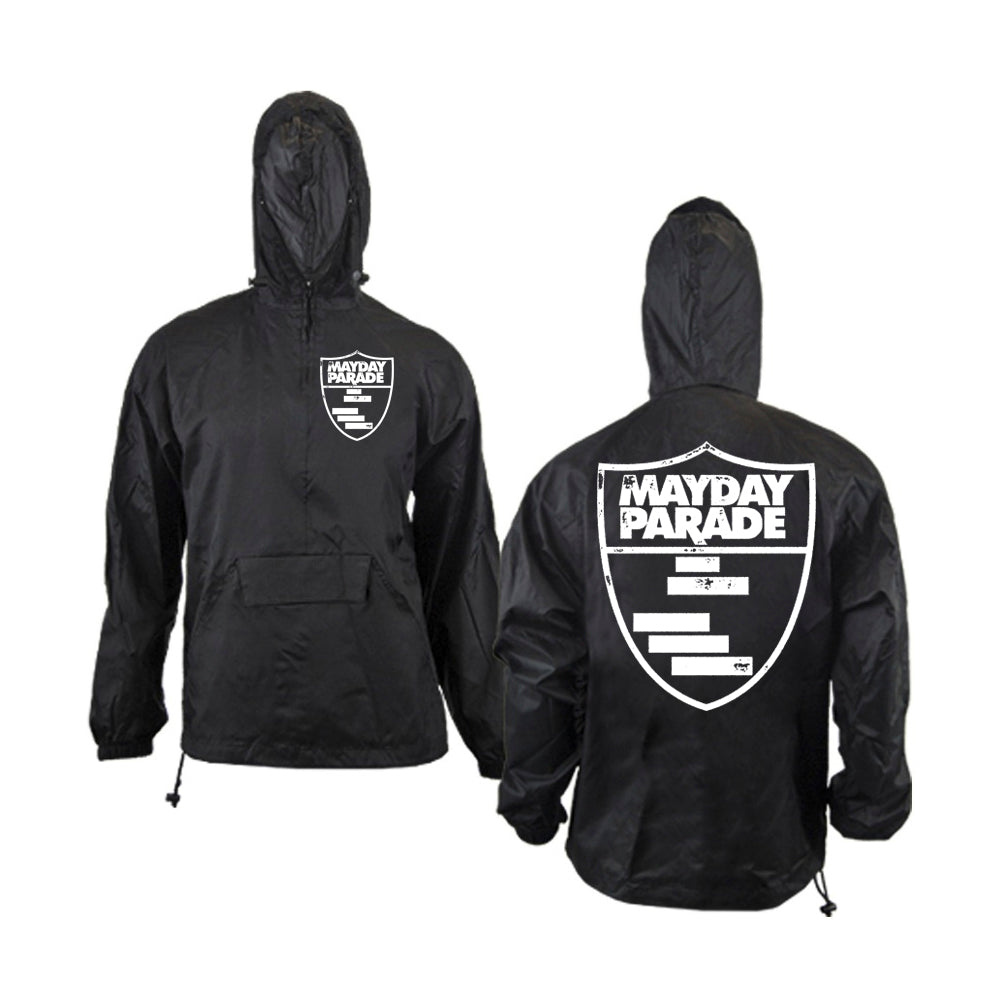 Shield Black Pullover Jacket