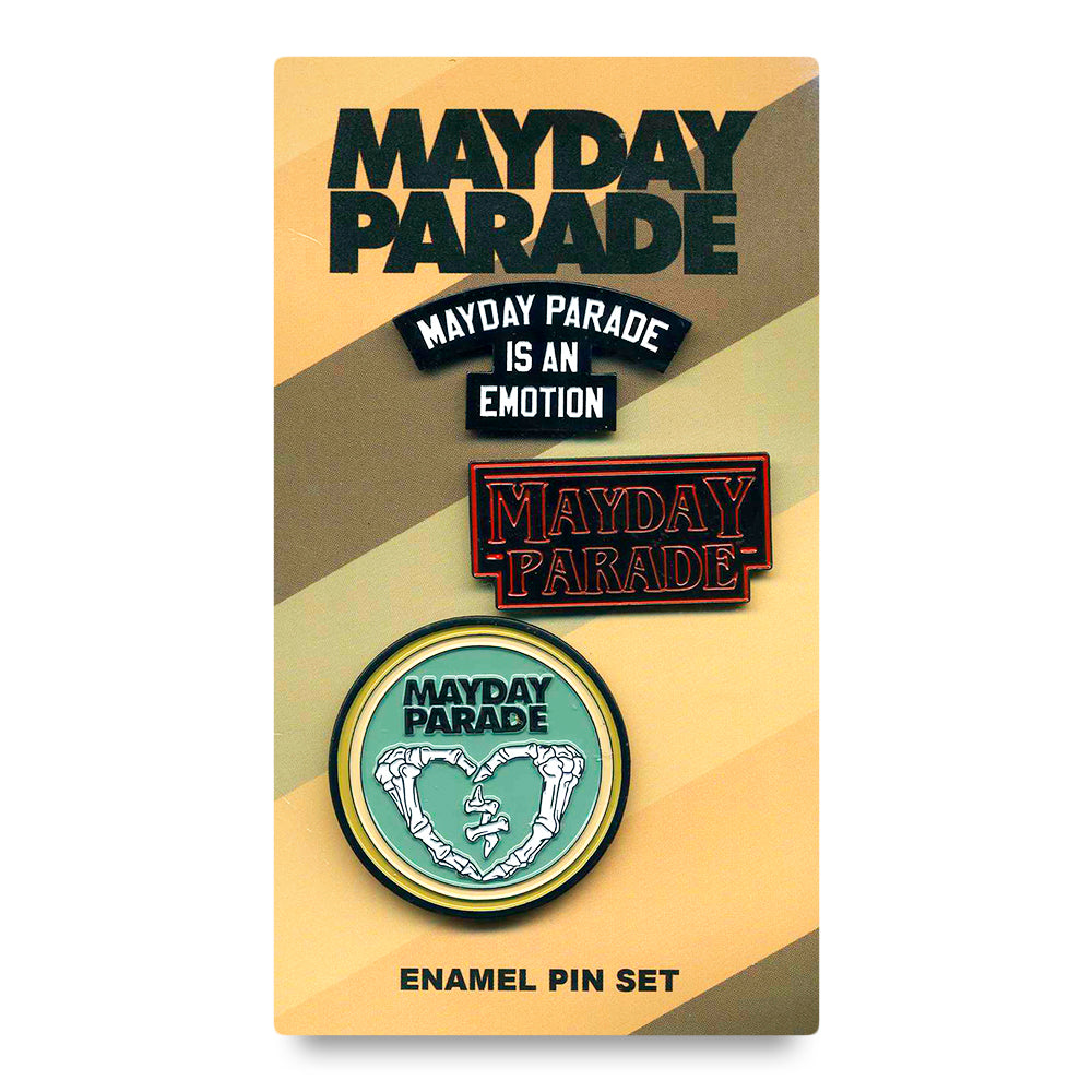 Warped Tour 2018 Enamel Pin Pack
