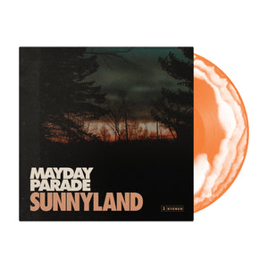 Sunnyland Orange/White Swirl Vinyl