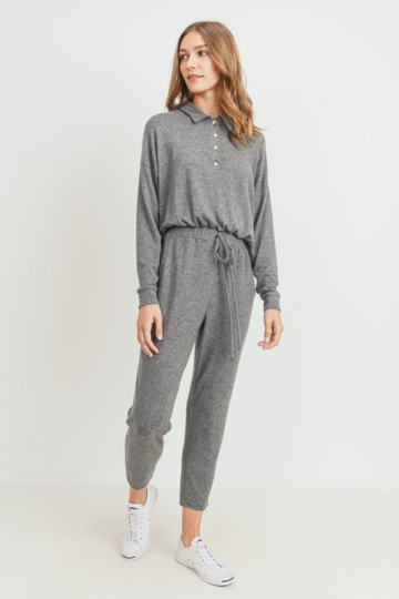 Stuart Collared Jumpsuit