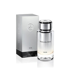 Mercedes-Benz Silver EDT Men's 120ml - Perfume Rack PH