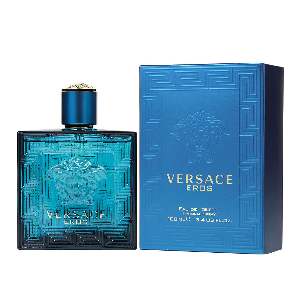 Versace Eros Eau De Toilette Men's 100ml - Perfume Rack PH