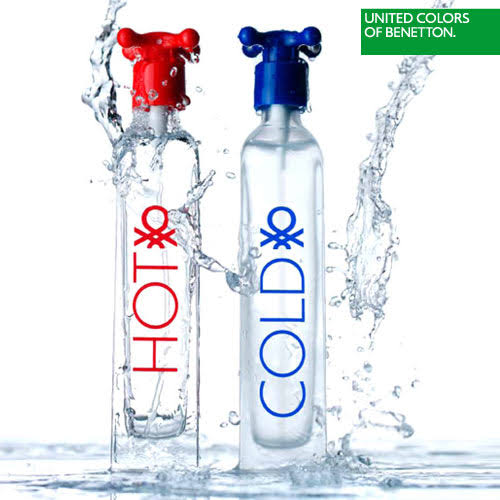 Benetton Hot and Cold Couple His and Hers 100ml - Perfume Rack PH