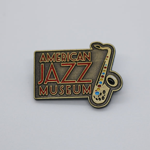 AJM Metal Enamel Pin
