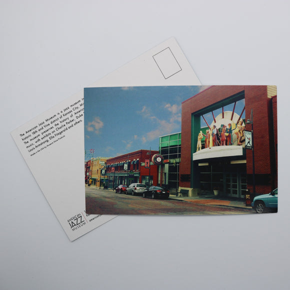 Museums at 18th & Vine Postcard