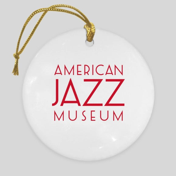 AJM & I Heart KC Jazz Ornament