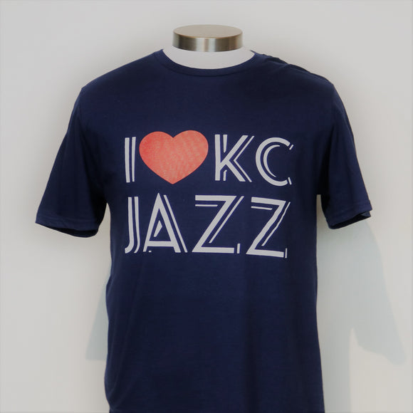 I Heart KC Jazz Short Sleeve T-Shirt