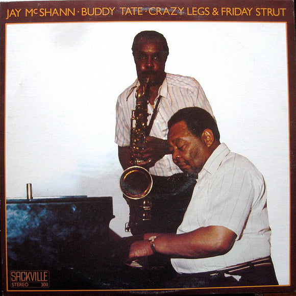 Crazy Legs & Friday Strut/Jay McShann & Buddy Tate LP