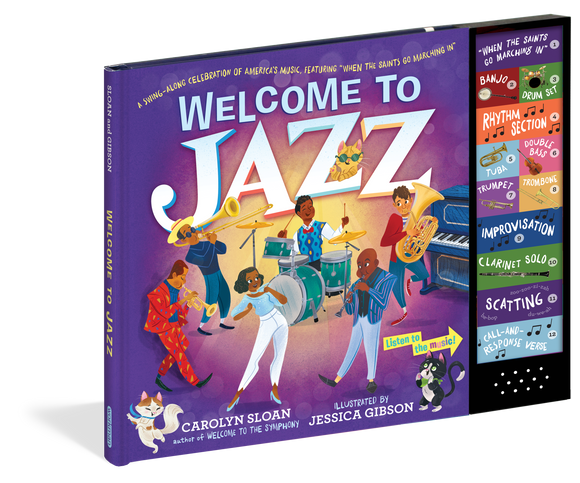 "Welcome to Jazz (A Swing-Along Celebration of America's Music, Featuring ""When the Saints Go Marching In"")"