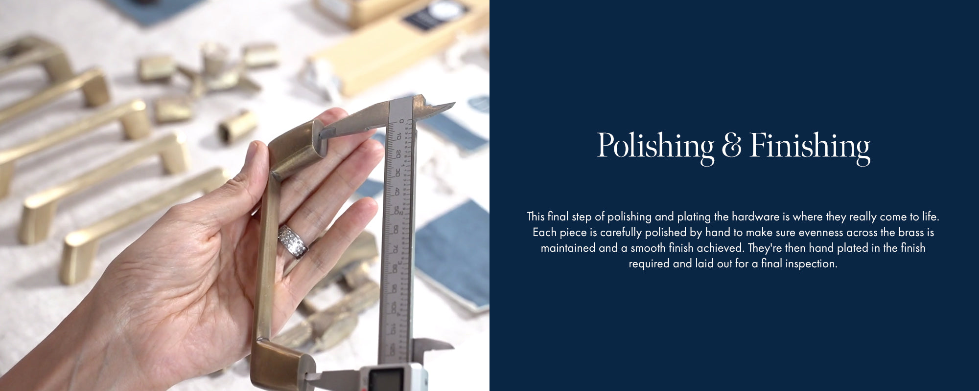 Our Design Process - Polishing and Finishing