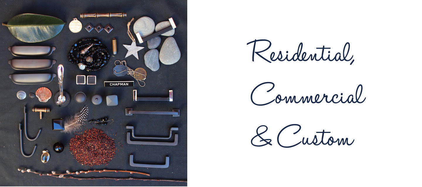 Residential, commercial and custom hardware