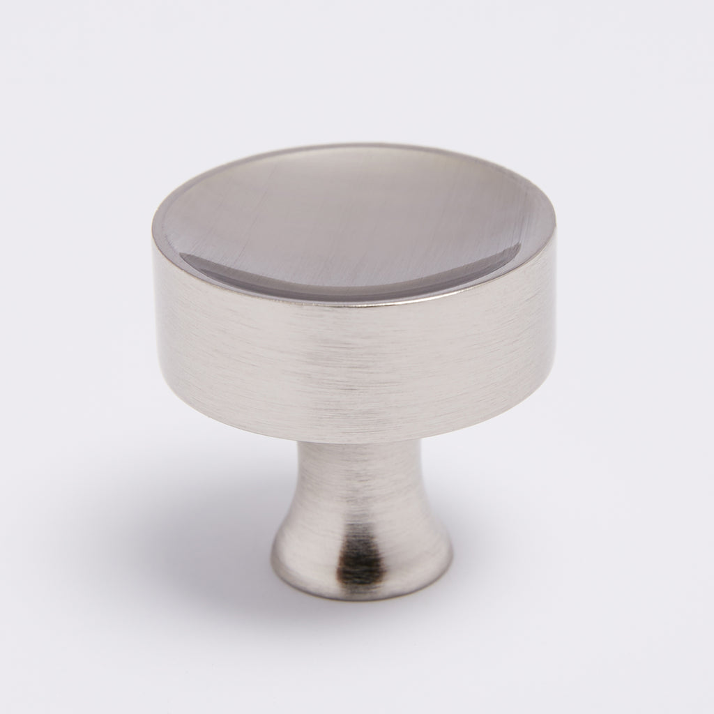 Atticus Knob - Satin Nickel