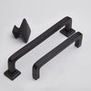Bronte handles and door knob range in oil rubbed bronze