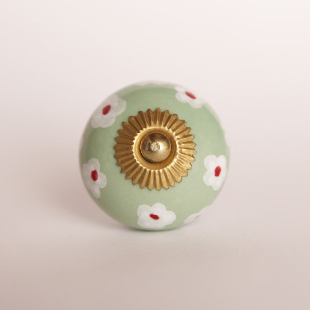Flower Bed-door-drawer-knob-handle