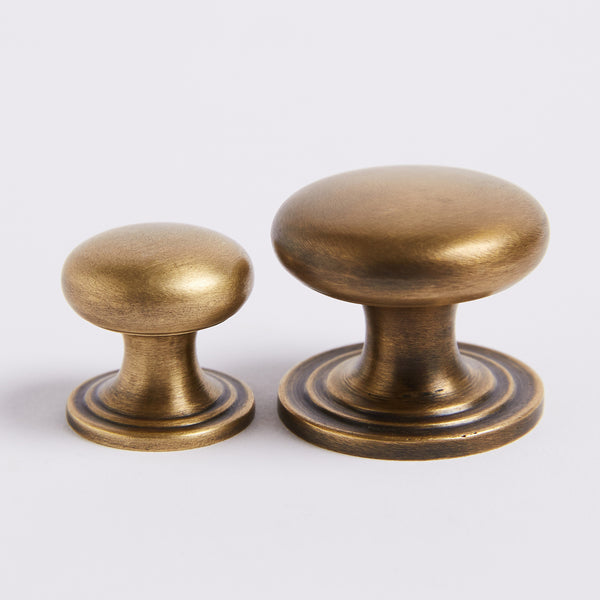 Kew Knob - Acid Washed Brass