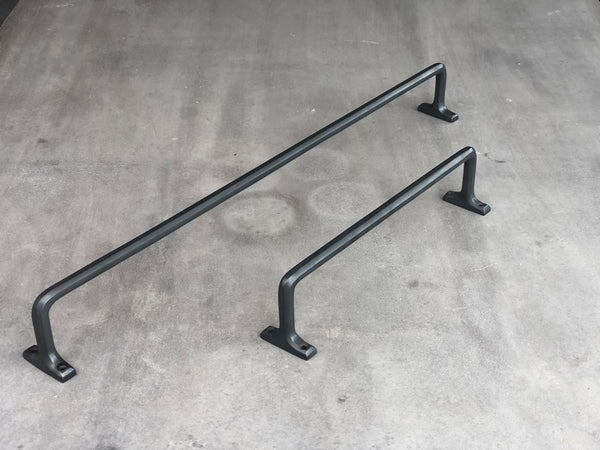 Henley 300mm Rail - Scorched Black