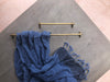 Henley 600mm Rail - Acid Washed Brass