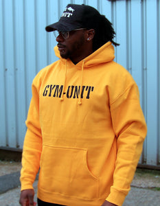 Pump Cover Hoodie / Gold